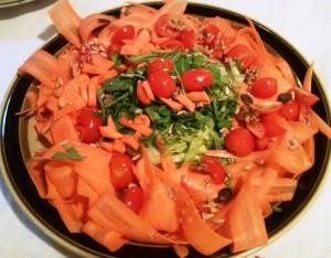 Carpaccio di carote