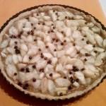 Crostata di pere con gocce di cioccolato