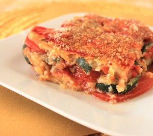 Parmigiana di melanzane (foto Vegan Cucina Felice)
