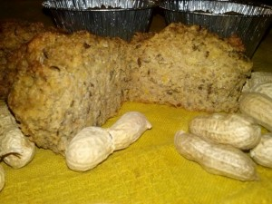 Tortini di mais e arachidi