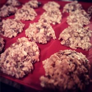 Biscotti di frutta secca e cereali