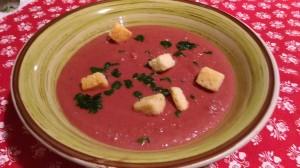 Borsch (zuppa di barbabietole)